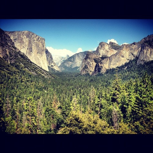 Tunnel View, Yosemite (Taken with Instagram)