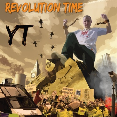 "YT's album Revolution Time explodes with fierce digital dancehall riddims, upon which the MC keeps it irie with talented and timely vocals. While guests Mungo's Hi Fi, Solo Banton, and Mr. Williamz alone make this worth a listen, YT holds his own on the microphone on these strong tracks. Lead (and downloadable) single ""Forward To Reality"" is an indictment of modern times, ""World News"" gives the Dutty Diseases riddim an excellent workout, while closer ""Heathen Agenda"" is smooth with an upbeat vibe - balance is the key here, as YT includes a lot of different styles within the reggae-sphere. A nice mixtape from Ashanti Yard is available as well…"