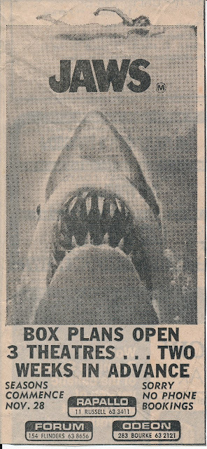 sharkcity:  J-Pic of the Day: Another nifty vintage newspaper ad. This one from across the pond.