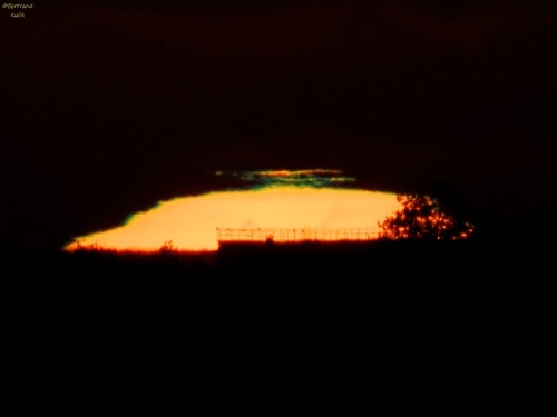 Green Flash from Paris