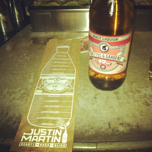 Justin Martin 40s (Taken with Instagram)