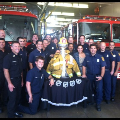 cazeb:  Stanley Cup visit at LAFD's Station 10! (Taken with Instagram at LAFD Station 10)