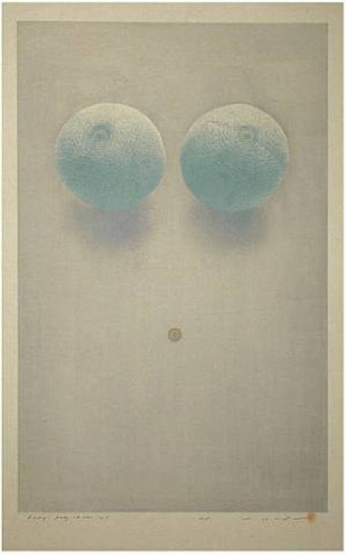 Tetsuya Noda (Japanese, b.1940)  2001  Prints and Multiples  Silkscreen