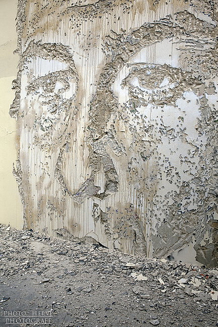 By Vhils by Photograff92 on Flickr.