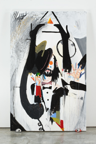 Spencer Sweeneytbc, 2009-2010acrylic on canvas66 x 42 inches VIA MORE