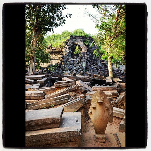 #bengmealea #cambodia  (Taken with Instagram)