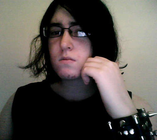 Woops, another crappy GPOY thing to remind people that I have a face. I really don't know why else I would post it.  Also I dyed my hair black fairly recently and I love it.