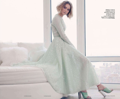 Rosie Tupper by Ron Contarsy for Harper's Bazaar Mexico July 2012