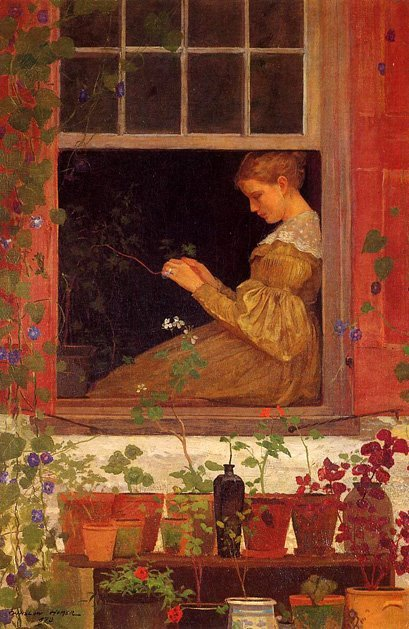 Winslow Homer, Morning Glories, 1873