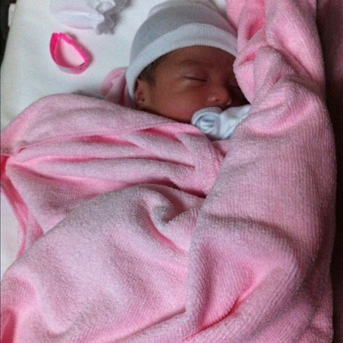 Welcome to the world baby Mikaela Audrianna! @abegailgo  (Taken with Instagram at St. Luke's Medical Center)
