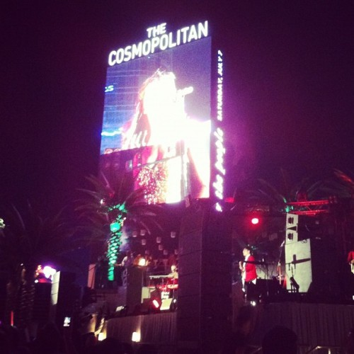 Kimbra in Vegas (Taken with Instagram at The Cosmopolitan)