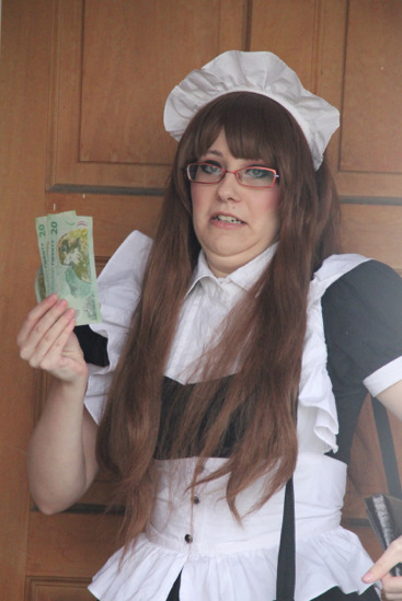 shiptease:   maria the maid-chan #2   rOLLIN IN DA RICHES