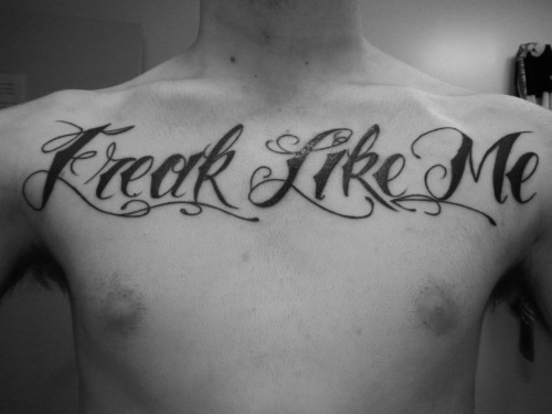 """Freak Like Me"" Done by Evan at Electric Graffiti in Pensacola, Florida"