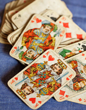 emrayfo:  Vintage playing cards