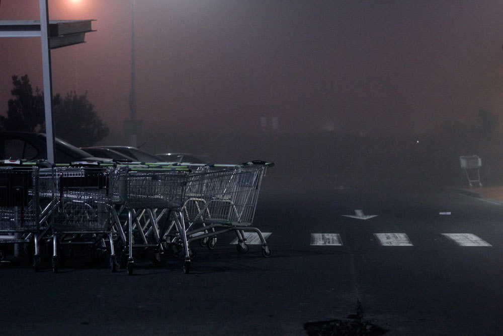 Abandoned trolleys. Photo: JCP.