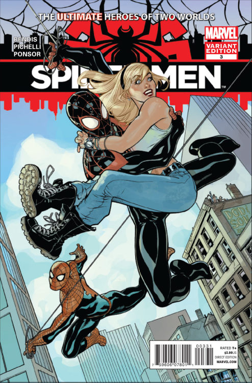 Spidermen #3 cover