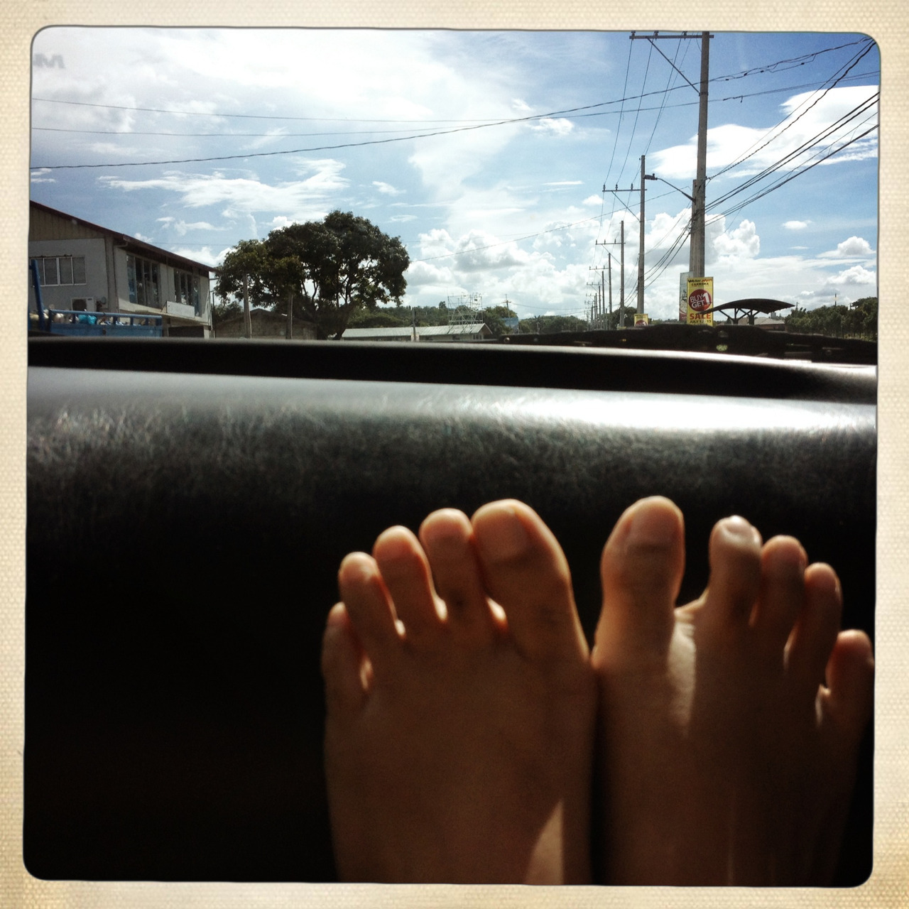 Sunday driving.