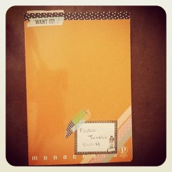 #washi #tape #decotape #notebook (Scattata con Instagram)