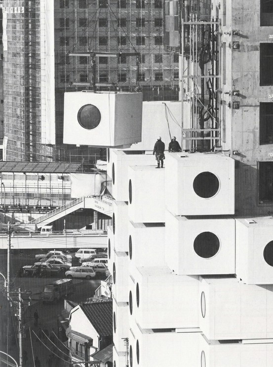 Nakagin Capsule Tower (1972) by Kisho Kurokawa
