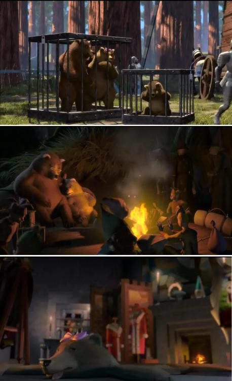 I never noticed the depressing story of the Three Bears from Shrek…  It hit me right in the childhood.