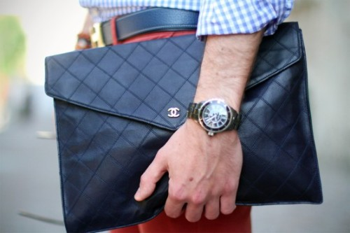 Nothing wrong with a man bag.
