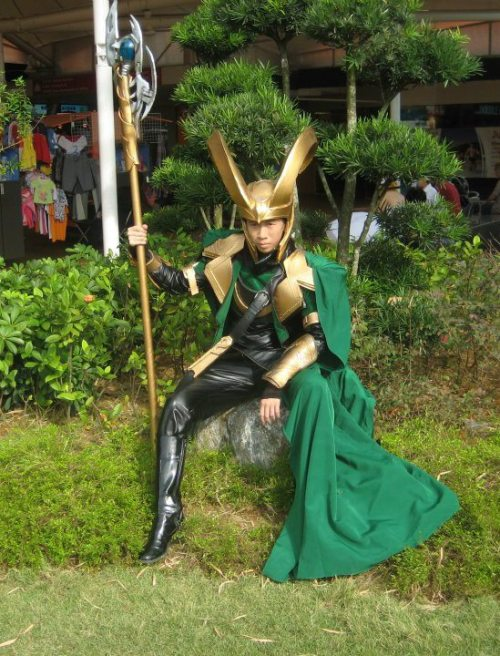 Joey Lim as Loki As always, top-notch work from Joey!