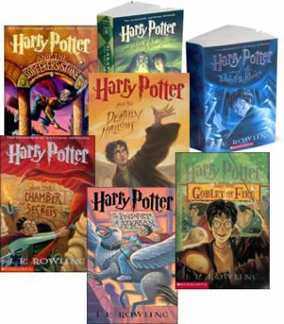 "I am thinking about Harry Potter                   ""Re-reading all of these ^_^ ""                                Check-in to               Harry Potter on GetGlue.com"