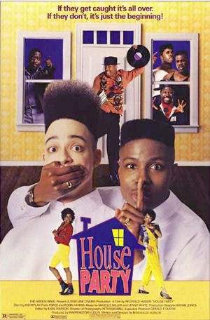 House Party (1990)  Young Kid has been invited to a party at his friend Play's house. But after a fight at school, Kid's father grounds him. None the less, Kid sneaks out when his father falls asleep. But Kid doesn't know that three of the thugs at school has decided to give him a lesson in behaviour…  Cast: Christopher Reid, Christopher Martin, Robin Harris, Martin Lawrence, Tisha Campbell-Martin Follow this blog for the neverending list of all the teen movies ever made!