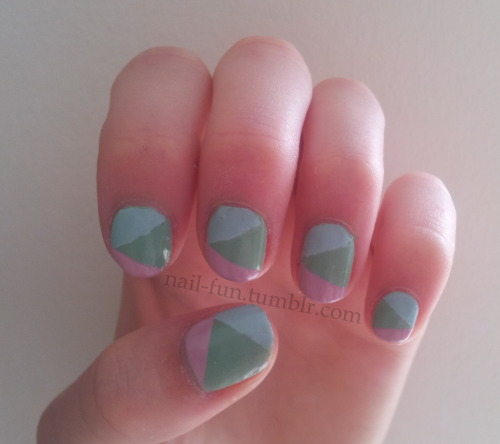 pastel color blocking :)
