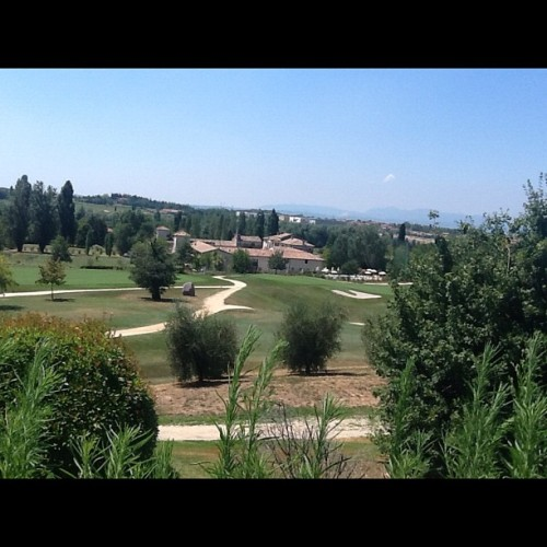 Relaxing sunday - Golf resort Peschiera del Garda. (Taken with Instagram)