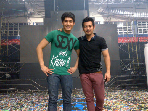 pbbexclusives:  Robi and Pratty at the Aftermath of BFF @ The Big Night