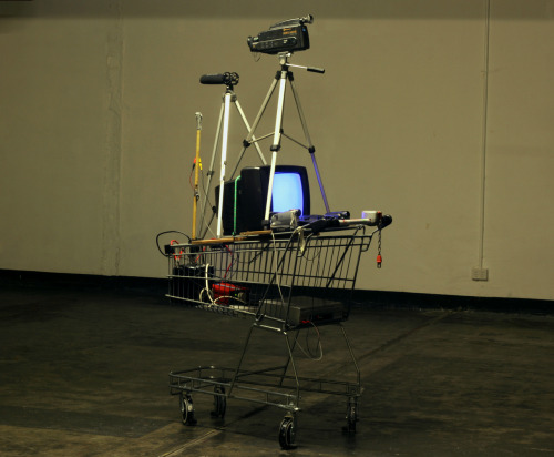 Quadrascopic Video camera, 2012, work in progress