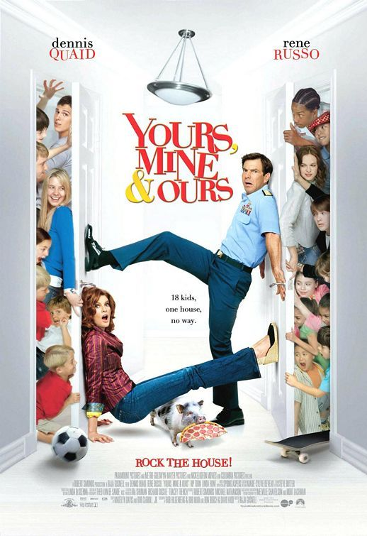 Yours, Mine and Ours. (9/10)
