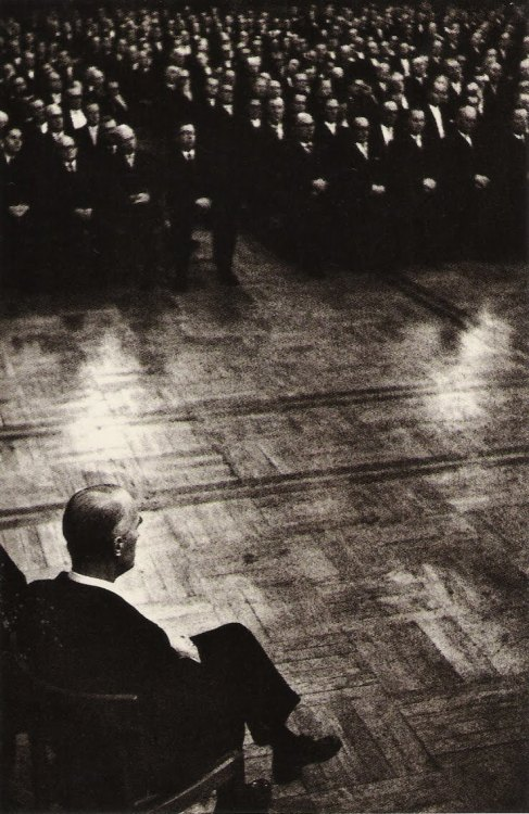 The Formal Business Meeting by René Burri. 1960