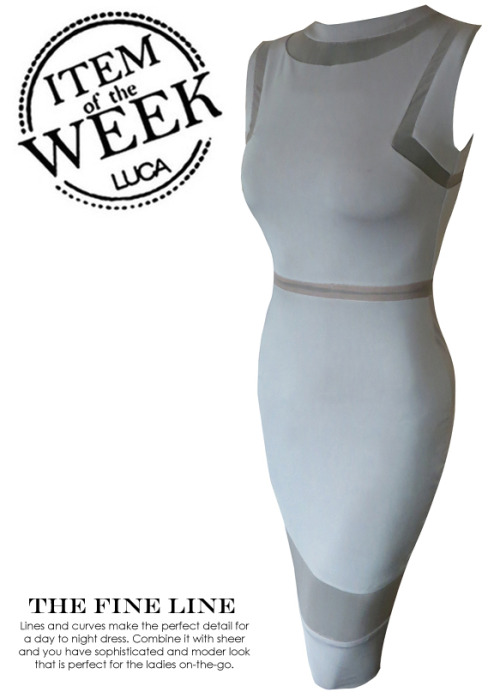 ITEM OF THE WEEK: KATIA DRESS (P2,650) Now available at http://www.shopluca.com
