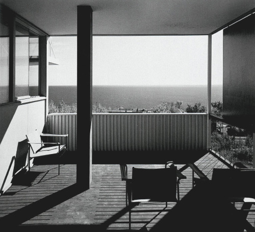 midcenturymoddesign:  Starkey House designed by Marcel Breuer, 1955.    Approved - W2K