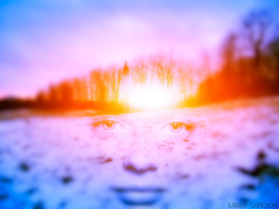LARRY CARLSON, Winter Sunrise, digital photography, 2007.