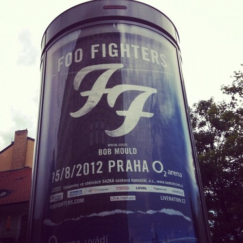 Found Foo Fighters but no Bruce yet  (Taken with Instagram)