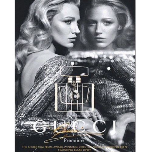 #blakelively The new face of #gucci (Taken with Instagram)