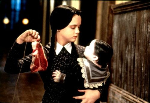 "Christina Ricci in ""Addams Family Values"" (1993)"