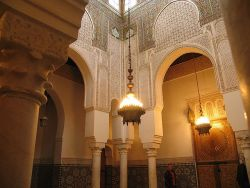 aminanomad:  Inside a Mosque in Morocco.