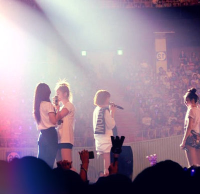 |Wonder Girls speech at the end of the concert.