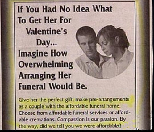 amberdemure:  magalyisawesome:  Advertising.  Romance.