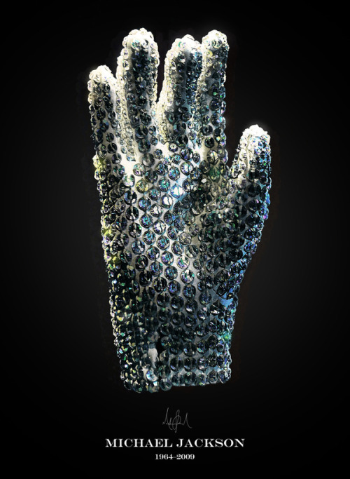 "Michael Jackson ""The Glove""An Unforgetable Icon   Michael Jackson was more than The King of Pop – the Guinness Book of World Records recognized him as the number one recording artist who supported the most charities. Inspired by the power of music to bring people together and make the world a better place, The Michael Jackson Tribute Portrait unites music lovers from more than 180 countries."