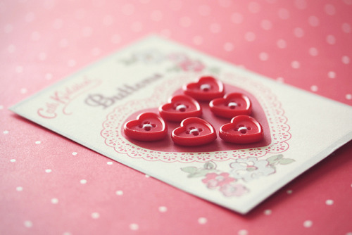 tinylovelytreasures:  Cath Kidston buttons by ♥ ribonita ♥ on Flickr.