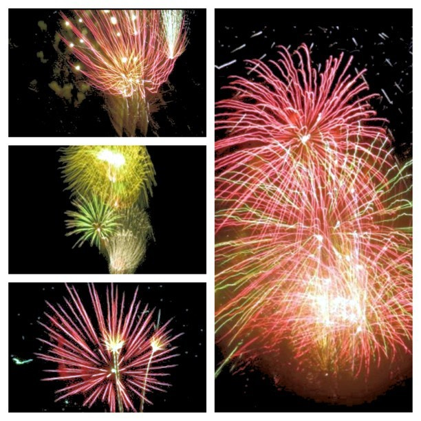 aimless-wonders:  4th of July Fireworks (Taken with Instagram)