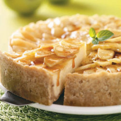Cinnamon Apple Cheesecake Recipe