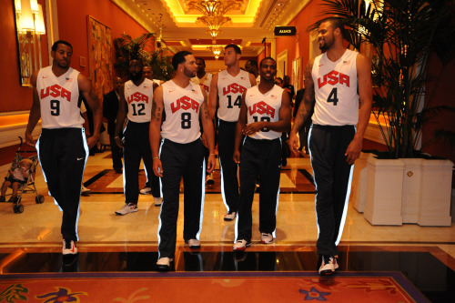 nba:   July 7, 2012: USA Basketball Training Camp in Las Vegas. (Photo by Andrew D. Bernstein/NBAE via Getty Images)