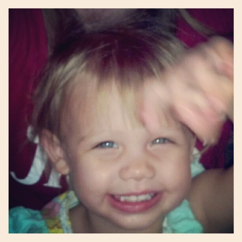 I #love my #baby #girl #instagram (Taken with Instagram)