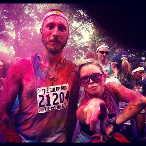 Color run!  (Taken with Instagram)